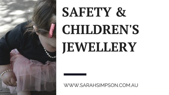 Childrens Infant Babies Kids Jewellery Safety